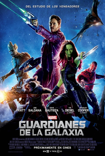 Cartel de Guardianes de la Galaxia (Guardians of the Galaxy)