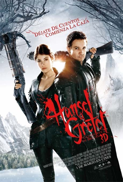 Cartel de Hansel y Gretel: Cazadores de brujas (Hansel and Gretel: Witch Hunters)