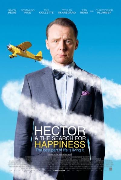 Cartel de Héctor y el secreto de la felicidad (Hector and the Search for Happiness)