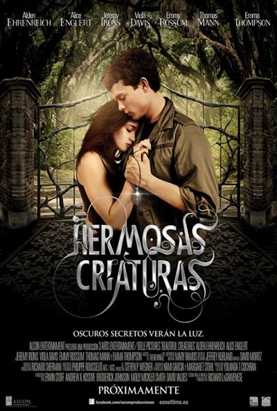 Cartel de Hermosas criaturas (Beautiful Creatures)