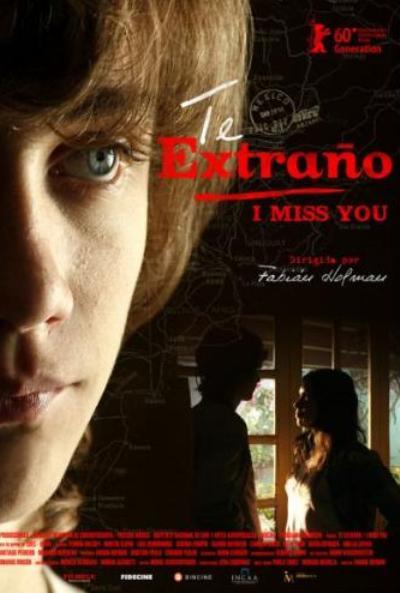 Cartel de Te extra�o (I miss you)