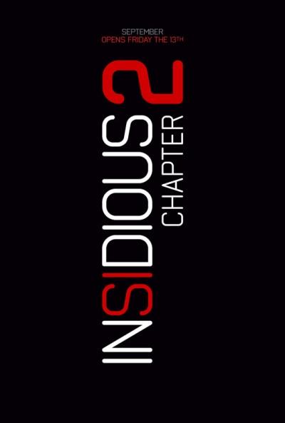 Téaser Póster de Insidious. Capítulo 2 (Insidious Chapter 2)