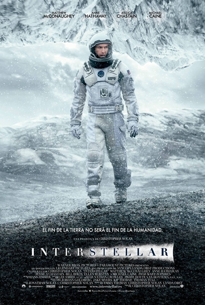 Cartel de Interstellar (Interstellar)