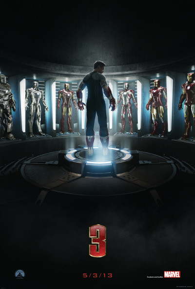 Téaser Póster de Iron Man 3 (Iron Man 3)