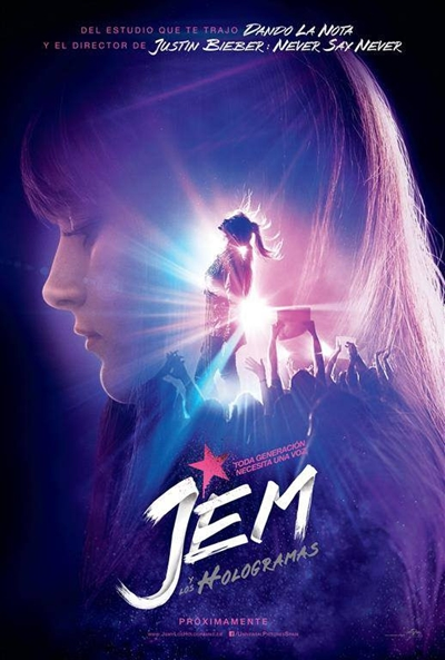 Cartel de Jem y los hologramas (Jem and the Holograms)