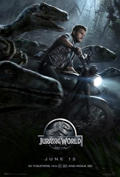 Cartel de Jurassic World (Jurassic World)