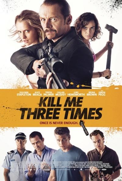 P�ster de  (Kill Me Three Times)