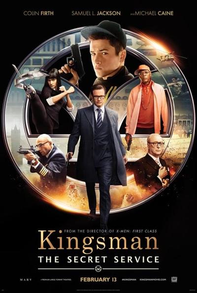 P�ster de Kingsman: Servicio secreto (Kingsman: The Secret Service)