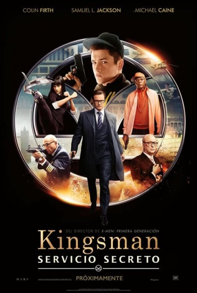 Cartel de Kingsman: Servicio secreto (Kingsman: The Secret Service)