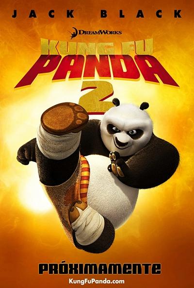 Kung Fu Panda 2 [DVDBD] [Latino]