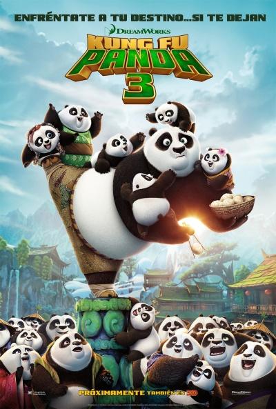 Cartel de Kung Fu Panda 3 (Kung Fu Panda 3)