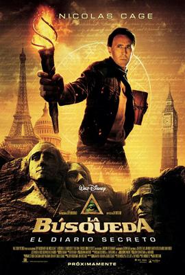 Cartel de La b�squeda: El diario secreto (National Treasure: The Book Of Secret)