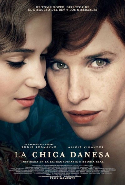 Cartel de La chica danesa (The Danish Girl)