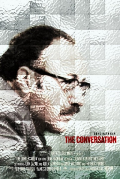P�ster de La conversaci�n (The Conversation)