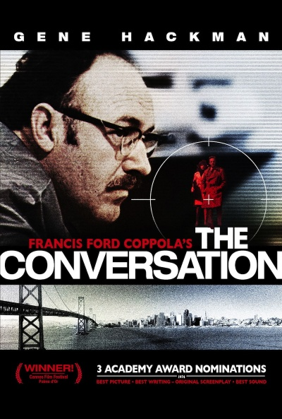 Cartel de La conversaci�n (The Conversation)