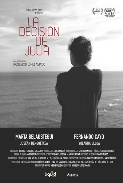 Cartel de La decisión de Julia (La decisión de Julia)