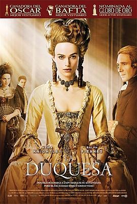 La Duquesa   The Duchess Audio Latino 2008 Xdiv DVDRIP  COM AR preview 0
