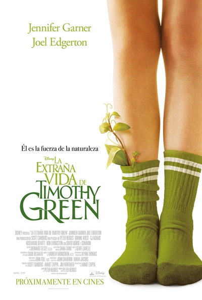 Cartel de La extraña vida de Timothy Green (The Odd Life of Timothy Green)
