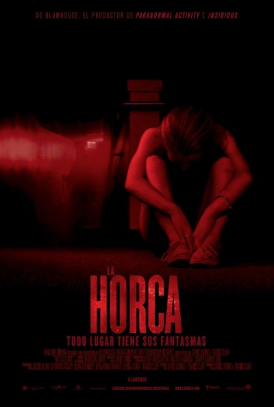 Cartel de La horca (The Gallows)