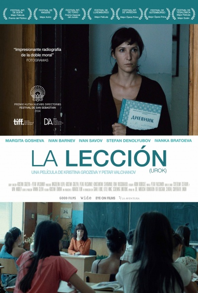 Cartel de La lección (Urok (The Lesson))