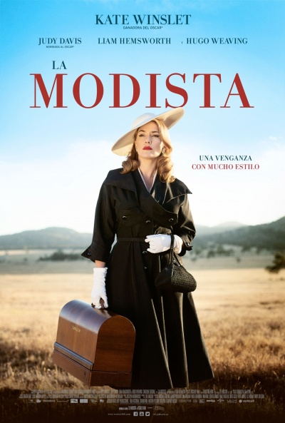 Cartel de La modista (The Dressmaker)