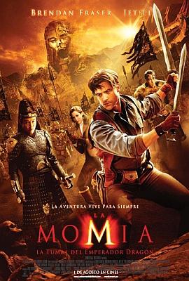 La Momia   La Tumba del Emperador Dragon (Audio Latino) 2008 DVDRIP Xvid Ac3 5 1  com preview 0