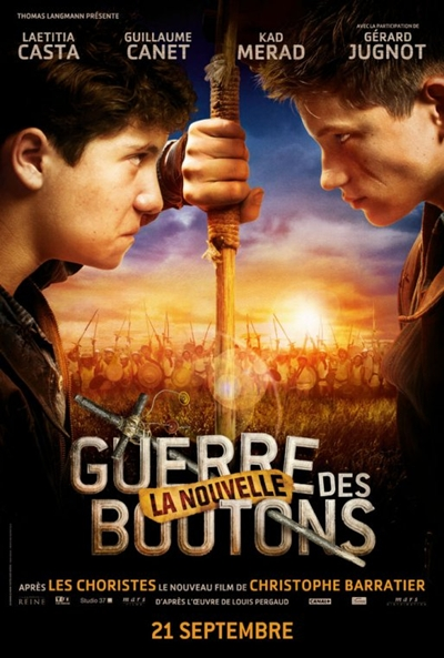 Pster de La guerra de los botones (La Nouvelle Guerre des Boutons)