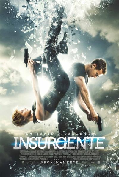 Cartel de La serie Divergente: Insurgente (The Divergent Series: Insurgent)