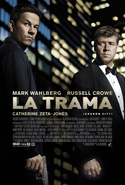 Cartel de La trama (Broken City)