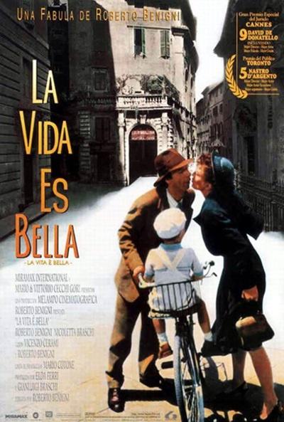Carteles de la película La vida es bella - El Séptimo Arte