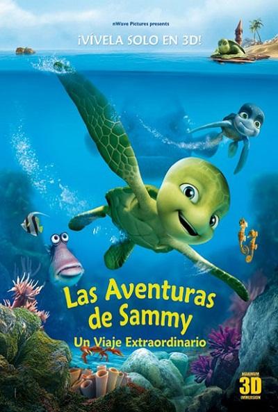 Cartel de Las aventuras de Sammy. Un viaje extraordinario (Sammy´s Adventures: The Secret)