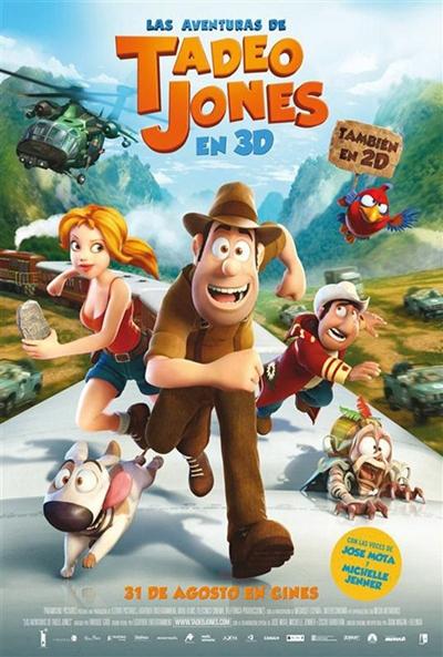 Cartel de Las aventuras de Tadeo Jones (Las aventuras de Tadeo Jones)
