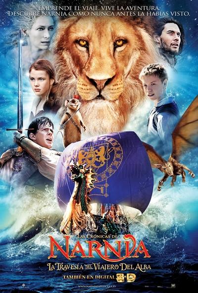 Cartel de Las crónicas de Narnia: La travesía del viajero del alba (The Chronicles Of Narnia: The Voyage Of The Dawn Treader)