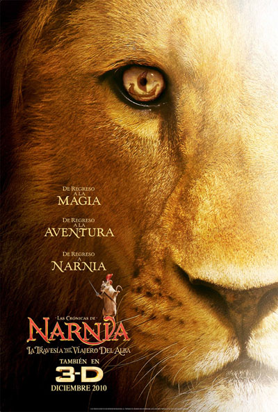 Téaser Póster de Las crónicas de Narnia: La travesía del viajero del alba (The Chronicles Of Narnia: The Voyage Of The Dawn Treader)