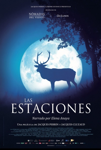 Cartel de Las estaciones (Les saisons)