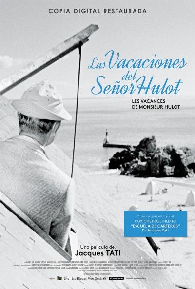 Cartel de Las vacaciones del señor Hulot (Les vacances de M. Hulot)
