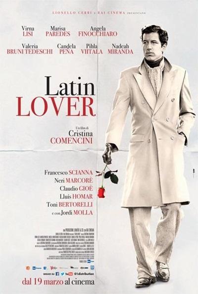 P�ster de Mi familia italiana (Latin Lover)
