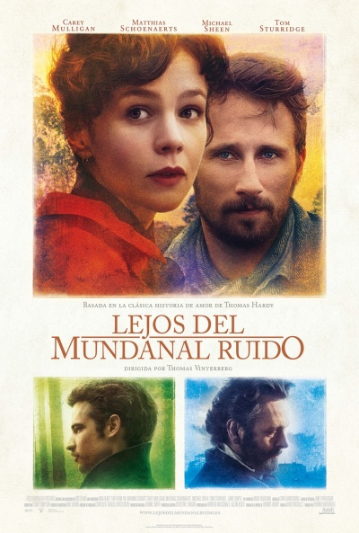 Cartel de Lejos del mundanal ruido (Far From the Madding Crowd)