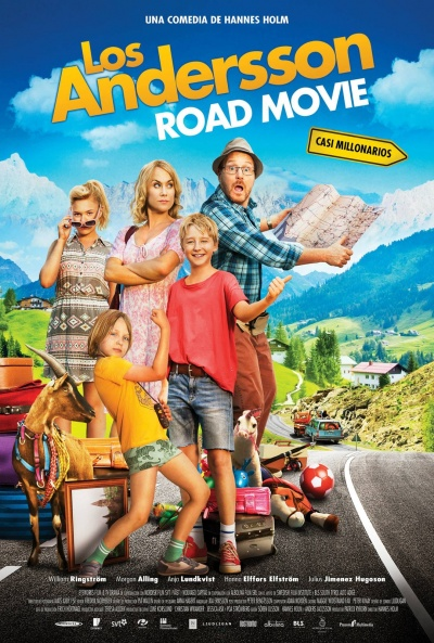 Cartel de Los Andersson Road Movie (Sune på bilsemester)