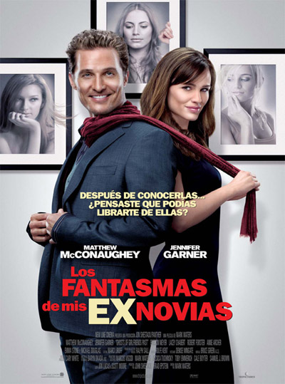 Cartel de Los Fantasmas de mis Ex Novias (The Ghosts of Girlfriends Past)
