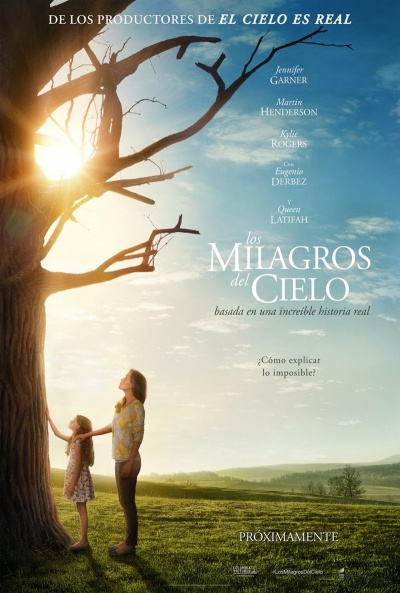 Cartel de Los milagros del cielo (Miracles from Heaven)