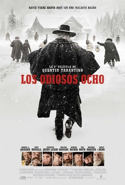 Cartel de Los odiosos ocho (The Hateful Eight)