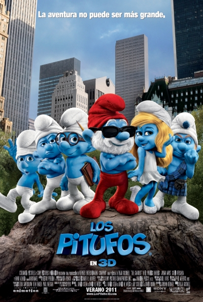 Los Pitufos (The Smurfs) [BRScreener] [Castellano] [2011]