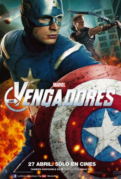 Cartel de Los Vengadores (The Avengers)