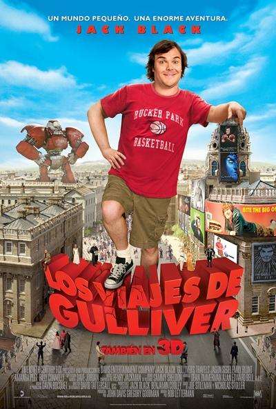 Cartel de Los viajes de Gulliver (Gulliver's Travels)