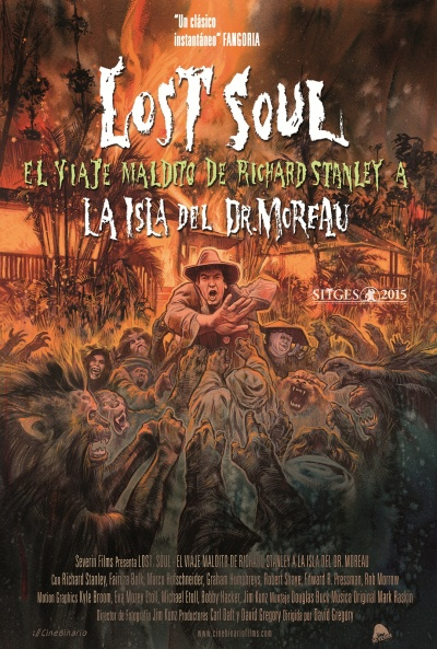 Cartel de Lost Soul: El viaje maldito de Richard Stanley a la isla del Dr. Moreau (Lost Soul: The Doomed Journey of Richard Stanley's Island of Dr. Moreau)