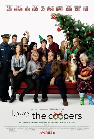 P�ster de Navidades, �bien o en familia? (Love the Coopers)