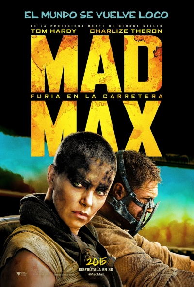 Cartel de Mad Max: Furia en la carretera (Mad Max: Fury Road)