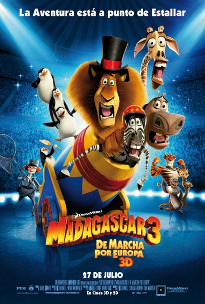 Madagascar 3: De marcha por Europa Online