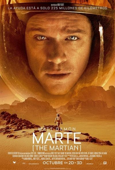 Cartel de Marte (The Martian) (The Martian)